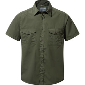 Craghoppers Kiwi Koszula z krótkim rękawem Mężczyźni, cedar